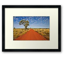 The Gunbarrel Highway Framed Print