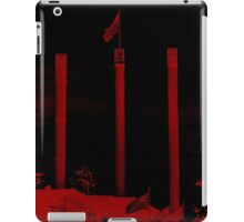 Bend Oregon in Black and Red (USA flag) iPad Case/Skin