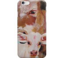 Mum & Bubs - Cows iPhone Case/Skin