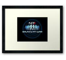 Mass Effect - Galaxy At War Framed Print