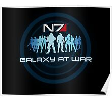 Mass Effect - Galaxy At War Poster