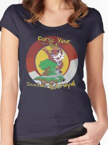 Curse Your Pokemon Betrayal  Women's Fitted Scoop T-Shirt