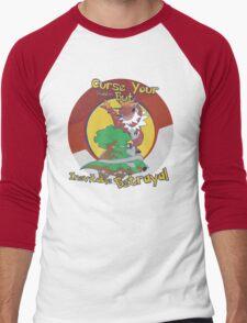 Curse Your Pokemon Betrayal  Men's Baseball ¾ T-Shirt