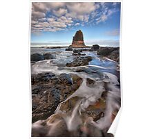Path to the Pulpit - Cape Schanck Poster