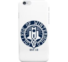 College of Winterhold Est. 1E iPhone Case/Skin