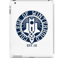 College of Winterhold Est. 1E iPad Case/Skin
