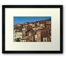 Siena / Italy Framed Print
