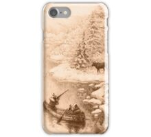 Winter Hunting iPhone Case/Skin