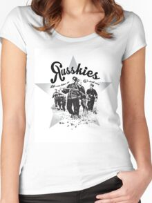 Russkies Women's Fitted Scoop T-Shirt