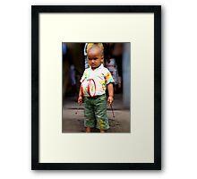 Mr Serious Framed Print