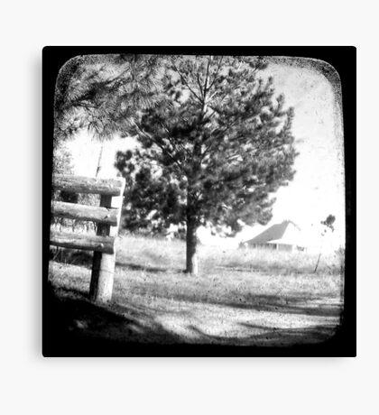The Old Farmhouse Canvas Print