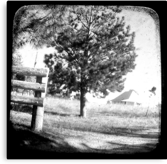 The Old Farmhouse by Kitsmumma