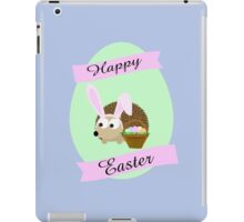 Happy Easter Hedgehog iPad Case/Skin