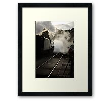 Early Morning at Grosmont Framed Print