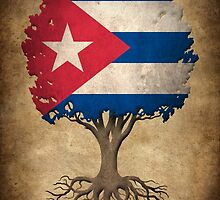 Tree of Life with Cuban Flag by Jeff Bartels