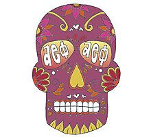 Aephi Sugar Skull Photographic Print