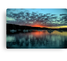 Masters Paint Brush - Newport - Sydney Beaches - The HDR Experience Canvas Print