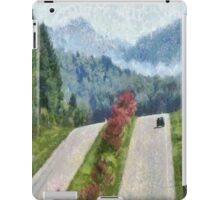 Ride On Into Franklin On The Merle Dryman Parkway iPad Case/Skin