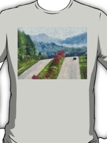 Ride On Into Franklin On The Merle Dryman Parkway T-Shirt