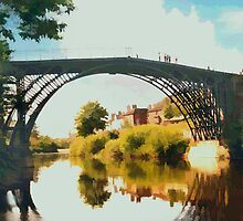 Ironbridge, Shropshire by Peter Sandilands