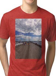 Torquay Pier Tri-blend T-Shirt