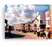 Exeter Quay, Devon Canvas Print