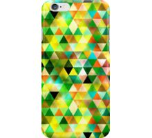 Cool Ambient Triangles Design iPhone Case/Skin