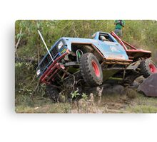 Tough Tracks Rd 2 2008 Canvas Print
