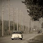 Route 66. Godley 1950&#x27;s car (Alan Copson ) by Alan Copson