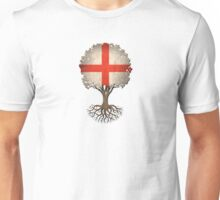 Tree of Life with English Flag Unisex T-Shirt