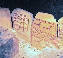 Bronze Age Glyphs III by HELUA