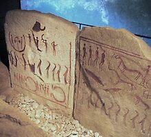 Bronze Age Glyphs II by HELUA