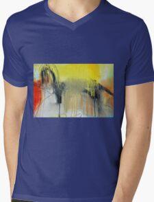 Golden Rain Mens V-Neck T-Shirt