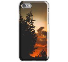 Sunset in Washington state iPhone Case/Skin