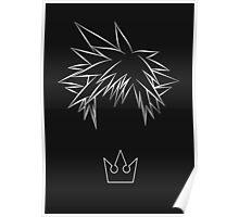 Minimal Sora from Kingdom Hearts Poster