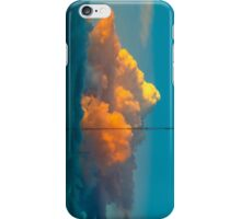 Apricot sunset iPhone Case/Skin
