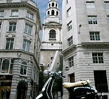 St. Bride's Church, Fleet Street by Umbra101