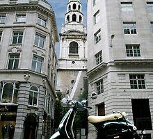 St. Bride's Church, Fleet Street by Umbra101