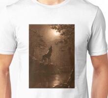 Moon Wolf Unisex T-Shirt