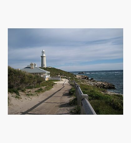 Lighthouse and Keeper's cottage Photographic Print