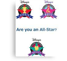 All Star Resorts Metal Print