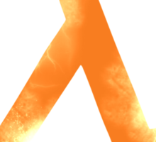 Half-Life Sticker