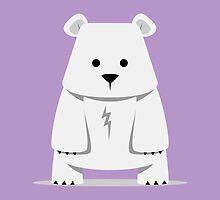 Tiny Polar Bear by sapto7
