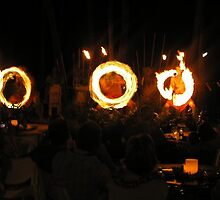Fire dancers at Westin Resort, Hawaii by chord0