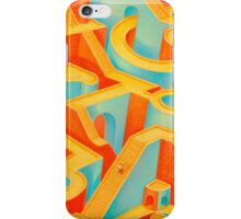 Primary Meander iPhone Case/Skin