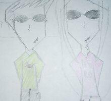 BOY & GIRL FRIEND by James Gibbs