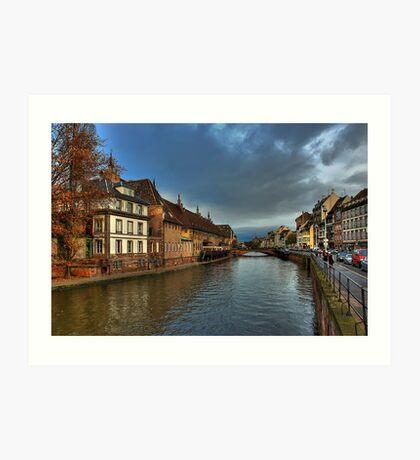 Strasbourg Art Print