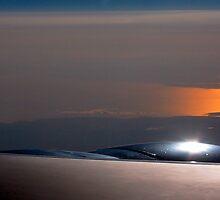 Icebergs Below.... by Brad Myers