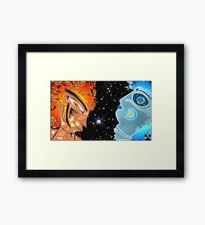 Bipolar Sky Framed Print