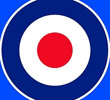 Classic Roundel Graphic by Garaga